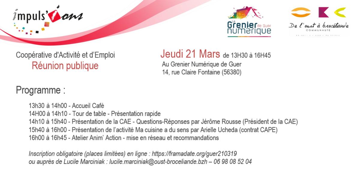 Invitation CAE  GUER 210319