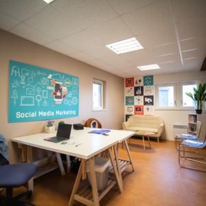 Grenier numérique de Guer – espace coworking